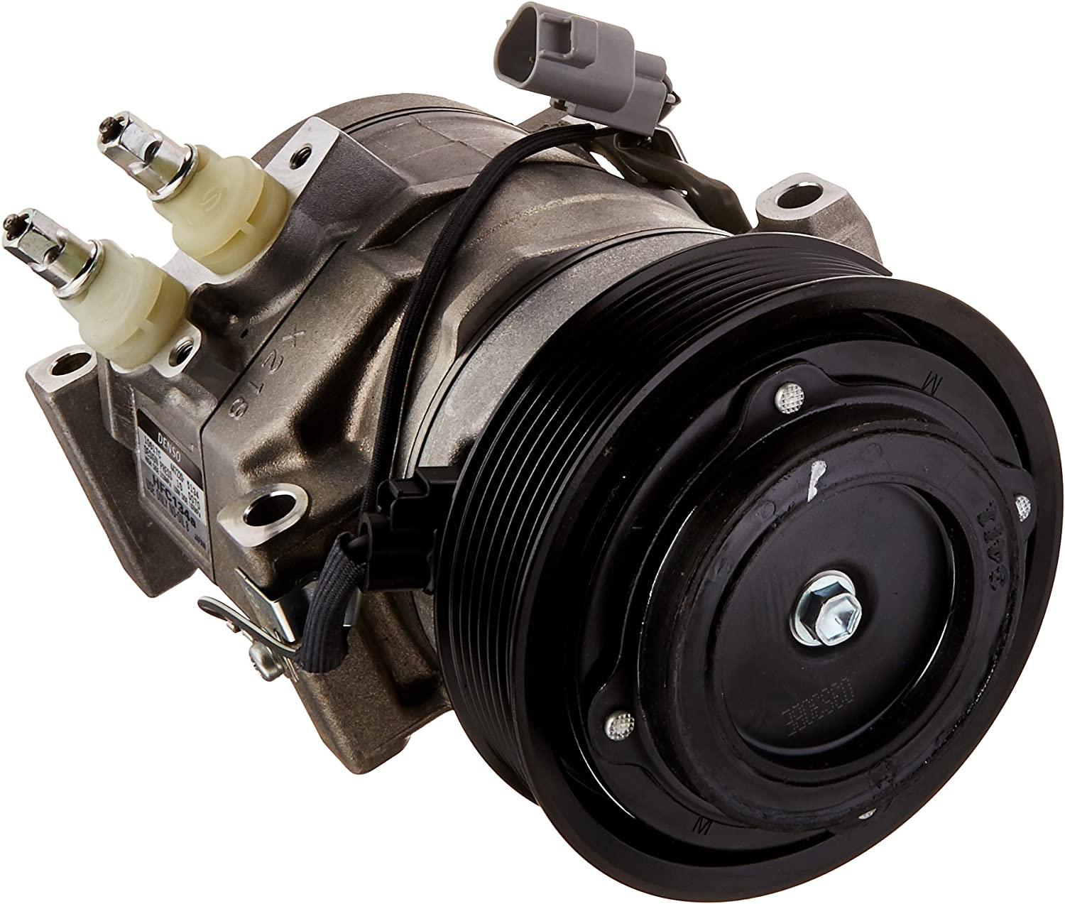 Denso 471-1413 New Compressor with Clutch