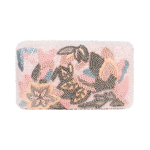 Parfois - Clutch - Bolso De Fiesta Cotton Candy - Mujeres - Tallas M - Rosa: Amazon.es: Zapatos y complementos