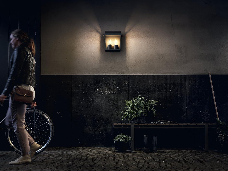 Plafoniere Esterno Philips : Philips lighting applique pn harvest lampada da parete