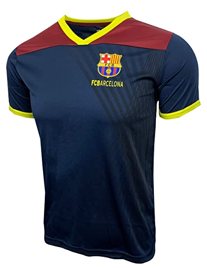 8b7fe22d9c9 FC Barcelona T-Shirt for Kids, Official Barcelona Training Jersey All Youth  Sizes (