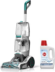 Hoover Smartwash Automatic Carpet Cleaner with Free & Clean Carpet Cleaning Solution (50 oz), FH52000, AH30952