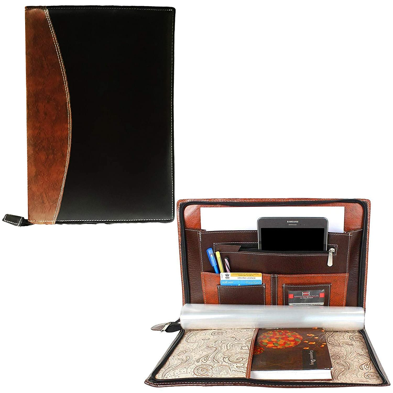 GreatDio® Leatherette Material Professional File Folders for