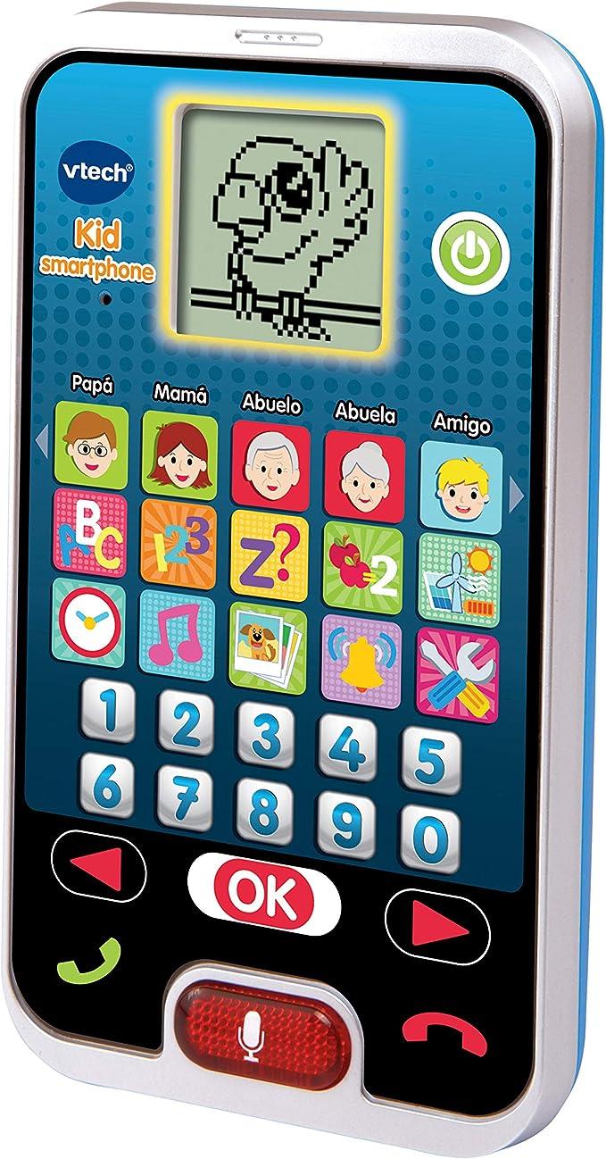 Amazon.es: Vtech 80-139322 - Kid Smartphone Teléfono Infantil, Multicolor