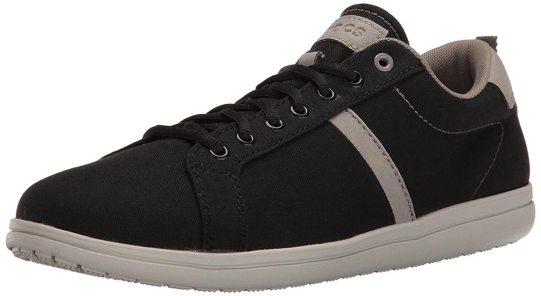 crocs Mens Torino Lace-Up M Fashion Sneaker  11 D(M) US Black/Pearl White
