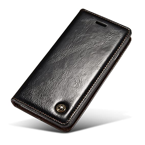 Excelsior Leather Wallet Flip Cover Case for Xiaomi Redmi 4   Black Mobile Phone Cases   Covers