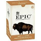 EPIC Bison Bacon Protein Bites Whole30, Paleo Friendly, 8 ct, 2.5 oz Pouches