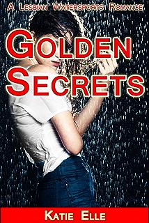 Golden lesbian shower sport water