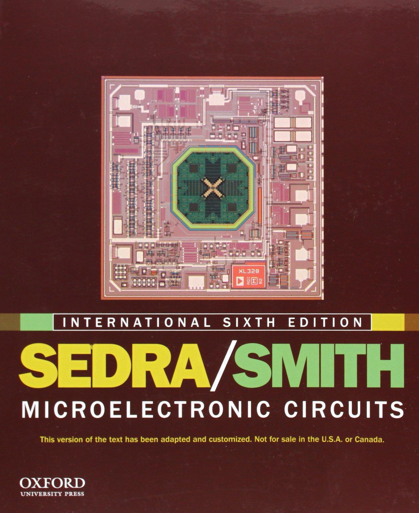 Analog Electronics By Sedra Smith Pdf
