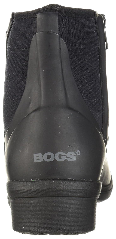 Bogs Women's Auburn Chukka Boot B01NBVQWDP 8 B(M) US Black
