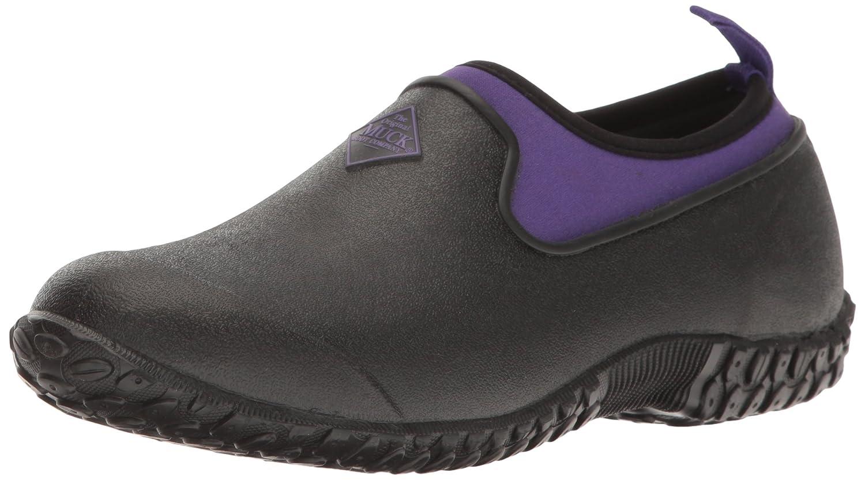 Muck Boot Women's Muckster 2 Low Rain B01B6KD1QW 5 B(M) US|Black/Purple