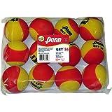 Penn QST 36 Foam Red Tennis Balls, 12 Ball Polybag