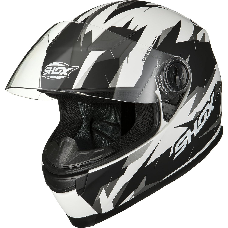 Shox Sniper Predator Motorrad Helm