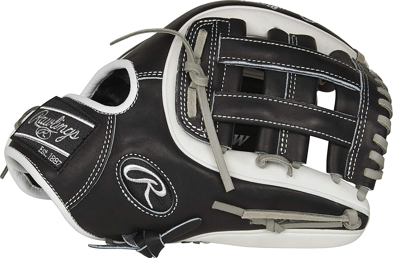 Rawlings Heart of The Hide 11.5インチ 野球グローブ PRO314-6BW PRO314-6BW Right  B07PCMPKTD