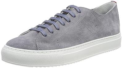 HUGO Damen Greenwich Slip on Sneaker, Grau (Medium Grey 036), 37 EU