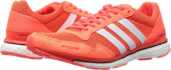 adidas AQ2429, Zapatillas de Running para Hombre, Naranja (Solar Red/FTWR White/Core Black), 44 2/3 EU: Amazon.es: Zapatos y complementos