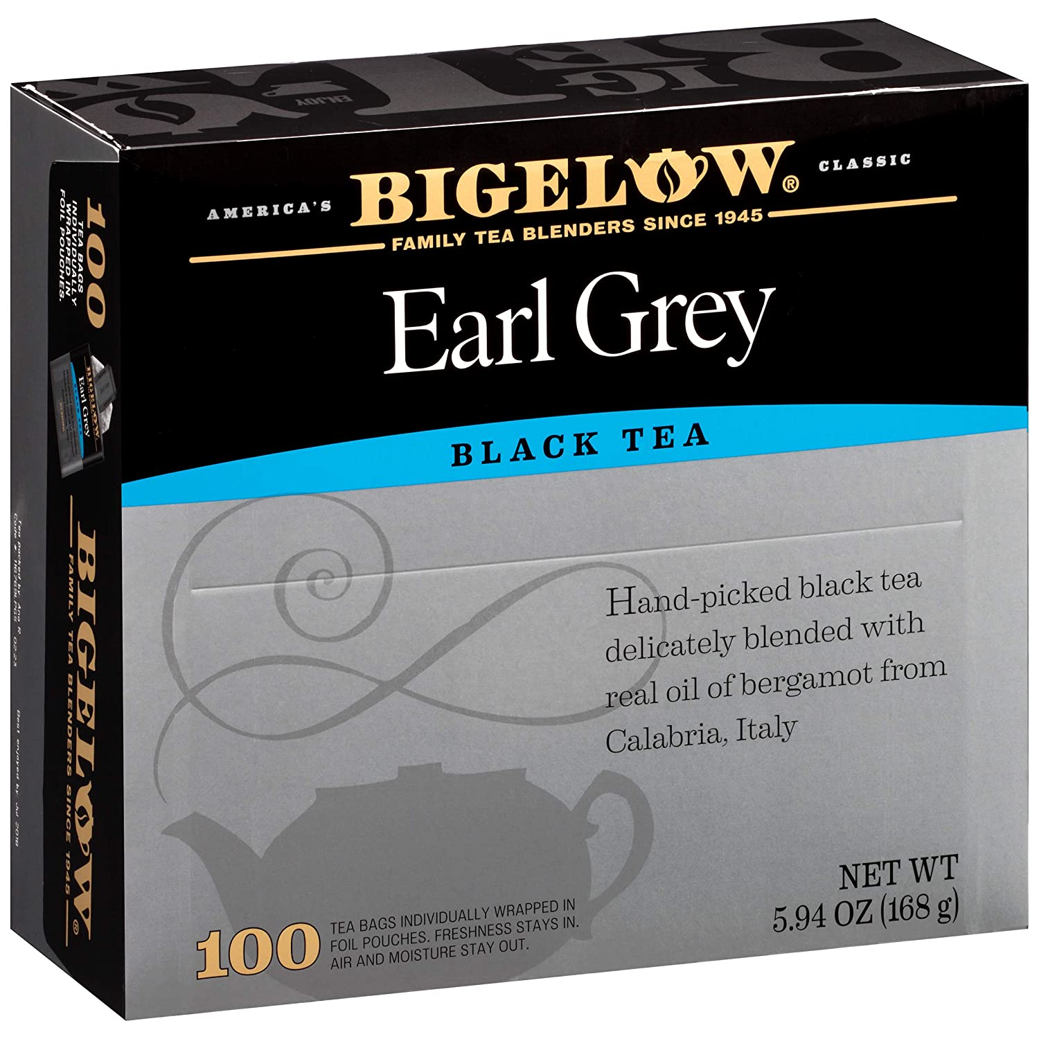 Bigelow 100 Count Box (Earl Grey