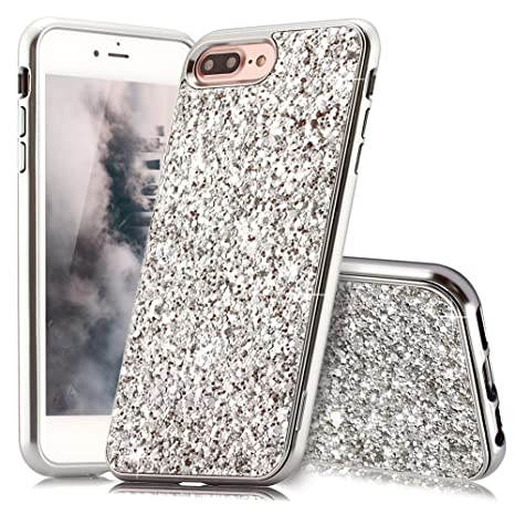 coque iphone 8 plus avec paillette