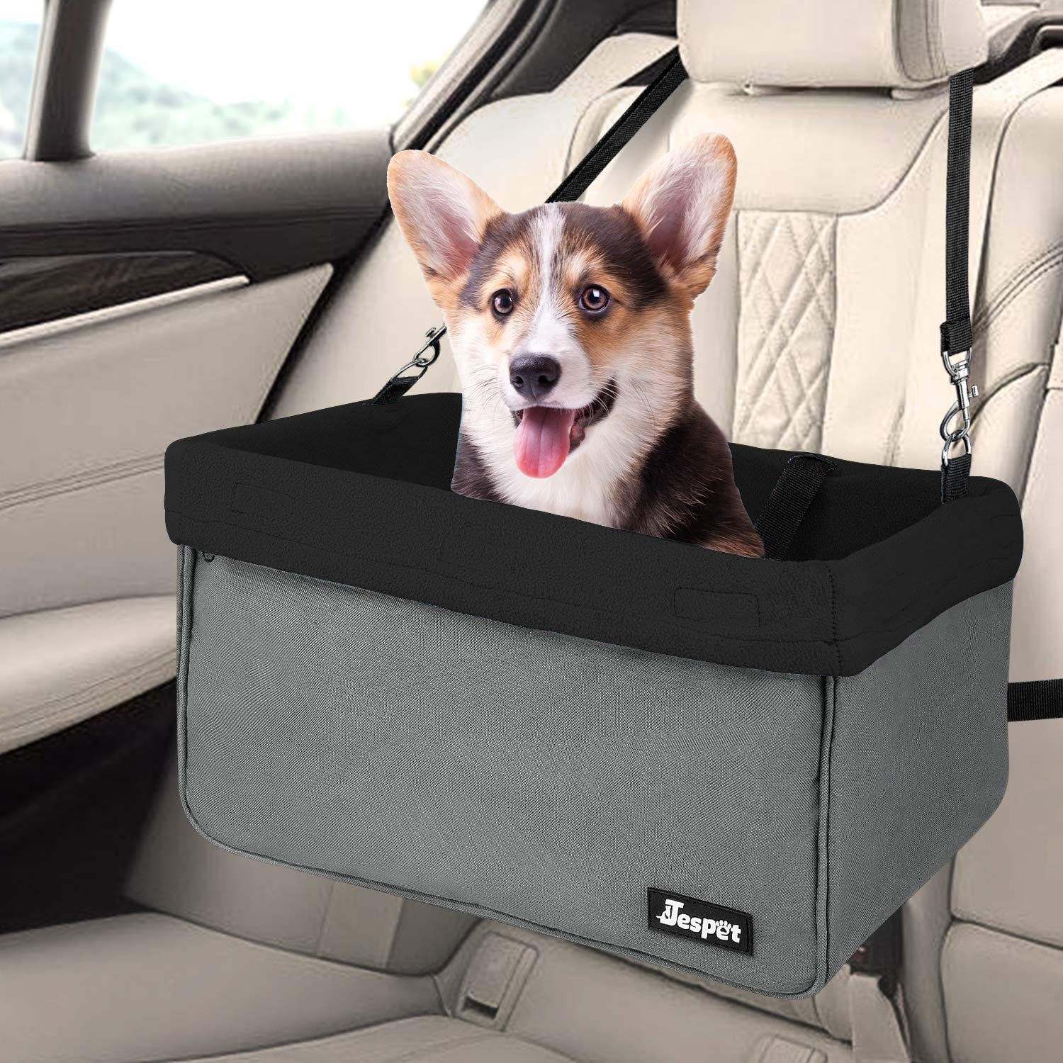 JESPET Dog Booster Seat for Cars