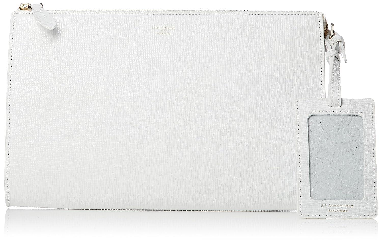[ペッレモルビダ] クラッチバッグ Mare マーレ 牛革 B077F9Z664 ホワイト