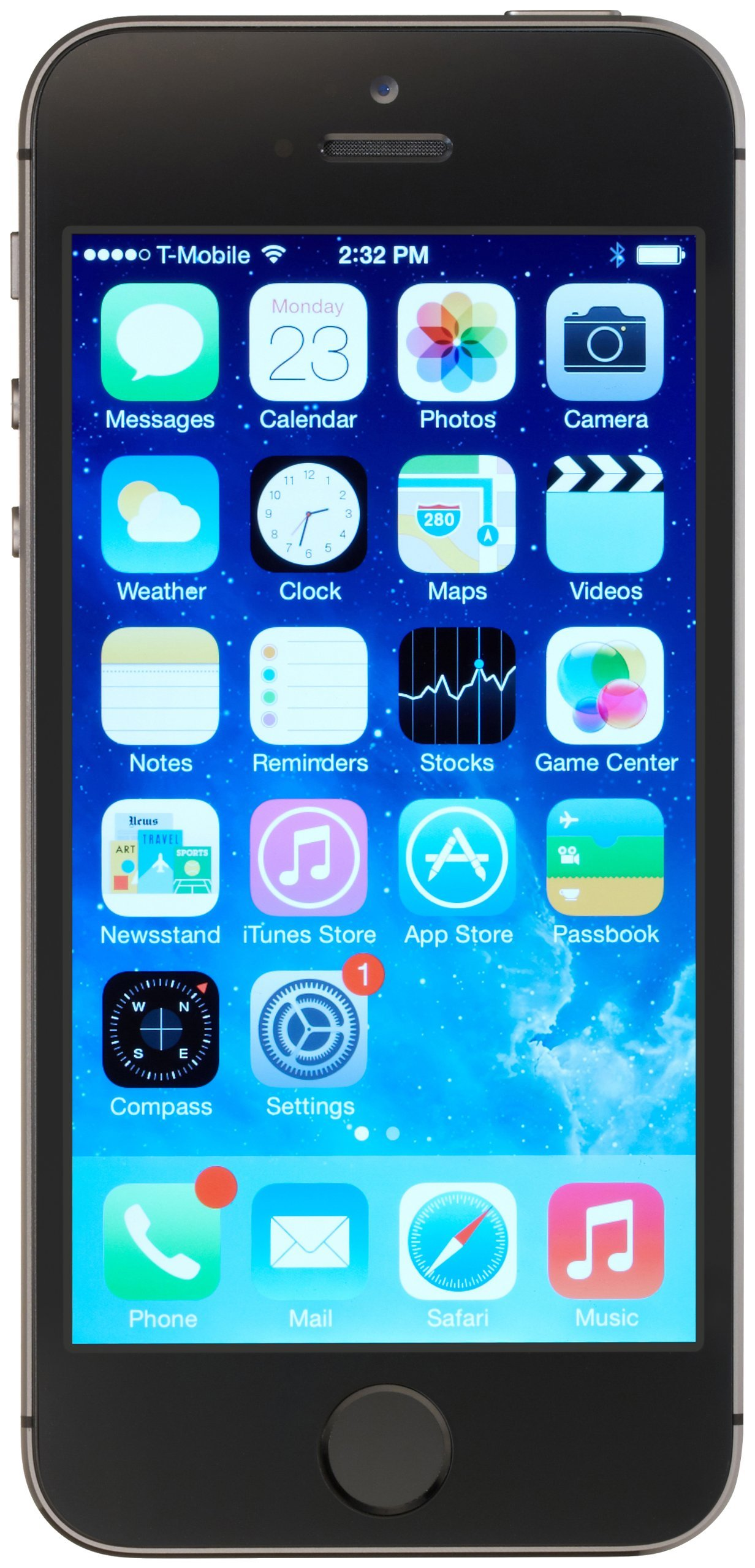 Apple Iphone 5s, 16GB - Unlocked (Space Gray) by Apple