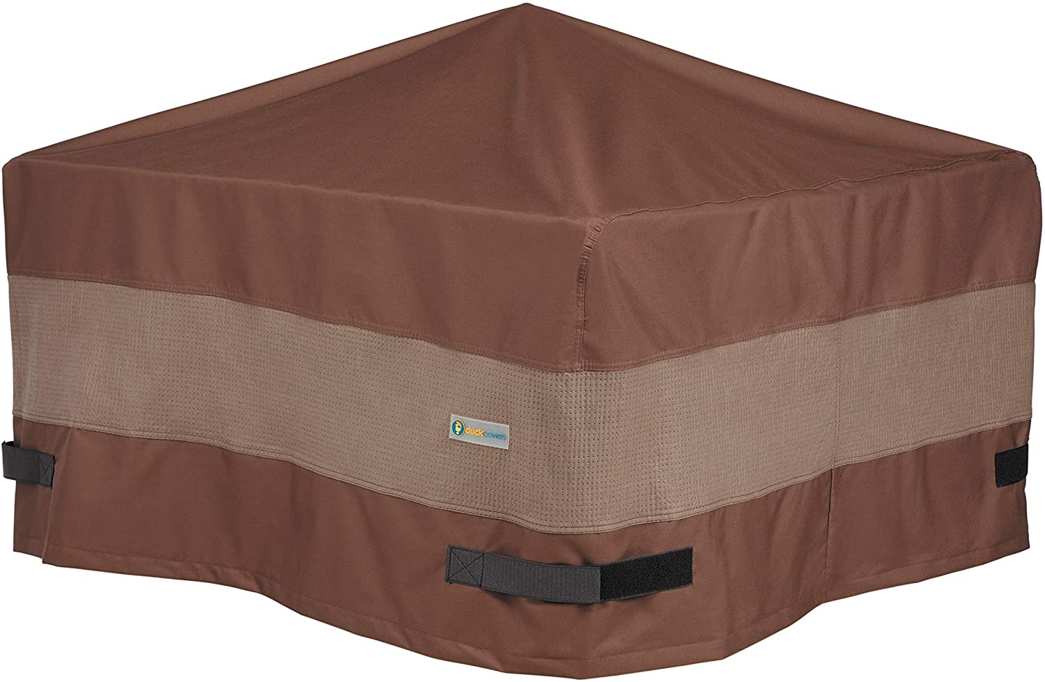 Duck Covers Ultimate Square Fire Pit Cover, 40-Inch