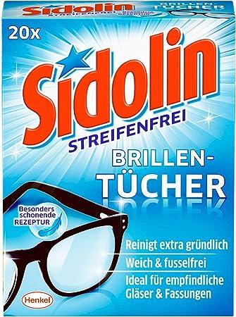 feucht 100 St/ück Durable 585302 Brillenputzt/ücher