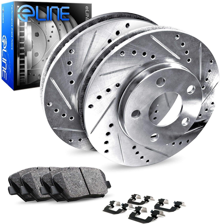 For 2005 2006 2007 2008-2010 Honda Odyssey Rear Brake Rotors /& Ceramic Pads