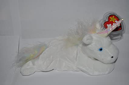 d22d6e7aa23 Image Unavailable. Image not available for. Color  Ty Beanie Baby - Mystic  the Unicorn   Rainbow Mane