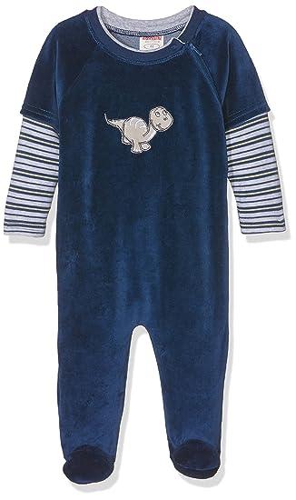 dc62a8f750 Schnizler Baby - Jungen Nicki Schlafoverall Dino, Oeko-Tex Standard 100  Schlafstrampler,per