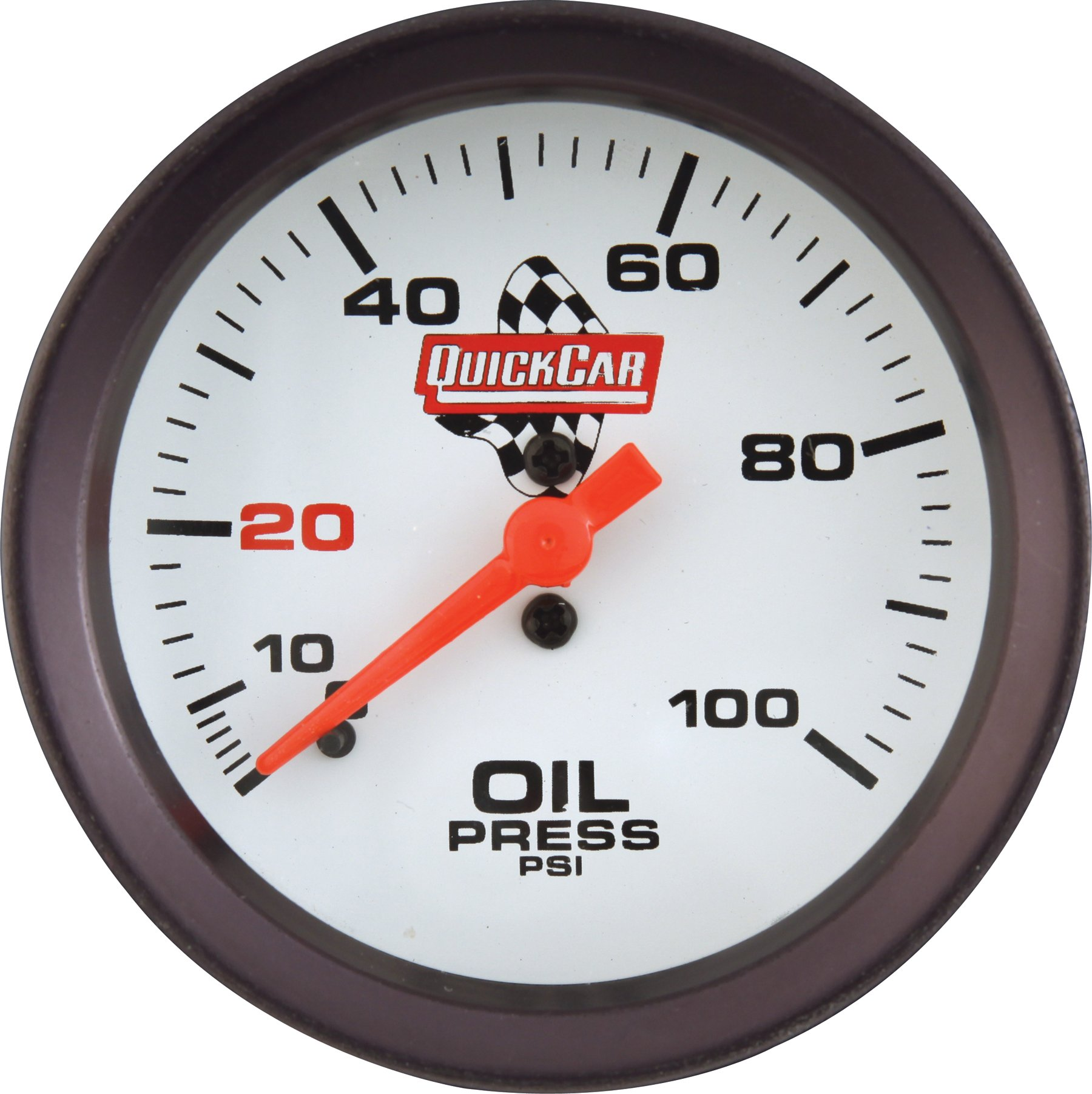 QuickCar Racing Products 611-7003 Extreme Series 2-5/8'' Diameter Oil Pressure Gauge by QuickCar Racing Products