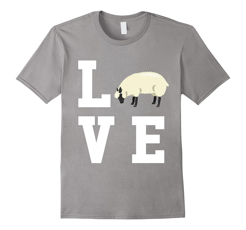 I Love My Sheep – Lamb Lover T-Shirt