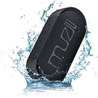 Muzili Bluetooth 5.0 Altavoz, Verdadero Modo Estéreo Inalámbrico Altavoz Portátil con 12H Continuo Largo Tiempo de Juego IPX7 Impermeable 20M Rango Transmisión Asistente de Voz Función Apagado Auto