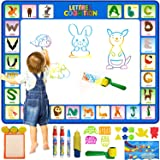 Markhorz® 100 X 78 cm Aqua Magic Doodle Mat with Accessories and Creative Painting Manual, Colorful Educational Water…