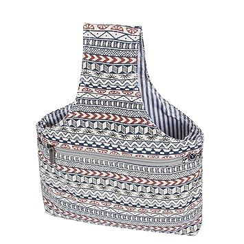 Teamoy Bolso de Ovillos Bolsa en Mano de Tejer Bolsos para Agujas Mochila de Crochet (pequeño, Bohemia): Amazon.es: Hogar