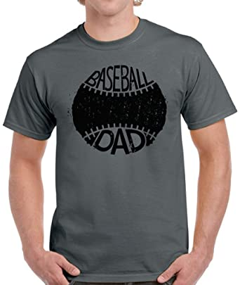 778c204f Pekatees Baseball Dad Shirt for Men Sports Dad Gifts Men's Father's Day  Shirt Charcoal S. Roll over image to ...