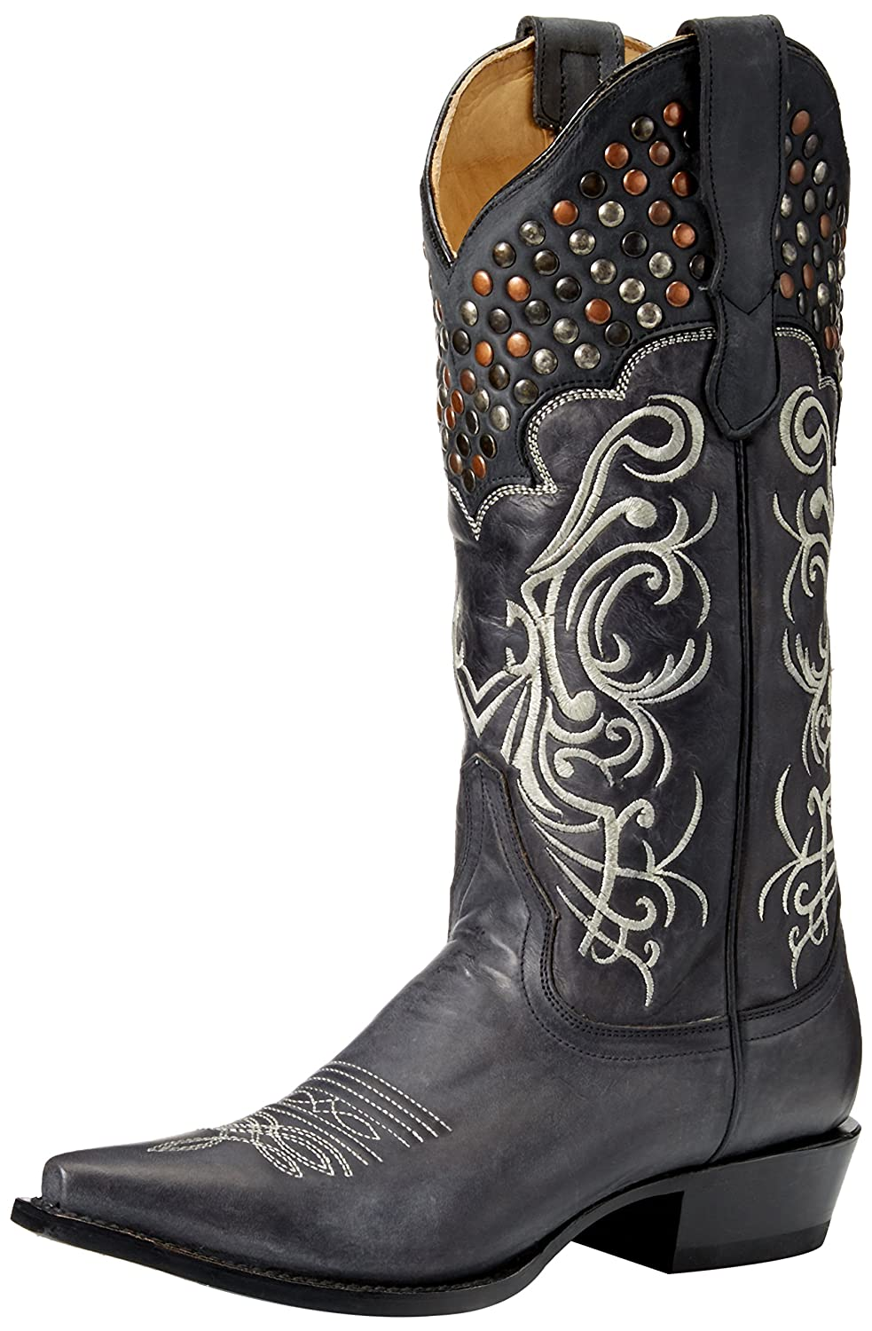 Stetson Women's Big Lila Riding Boot B010TVE1PO 9.5 D US|Black