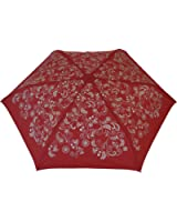 "Blooming Brollies ""Ball Handle"" Folding Umbrella - Red"