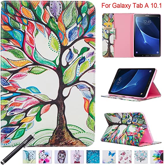 STAND Folio Case Cover per Samsung Galaxy Tab A Tablet 10.1 pollici SM-T580 T585