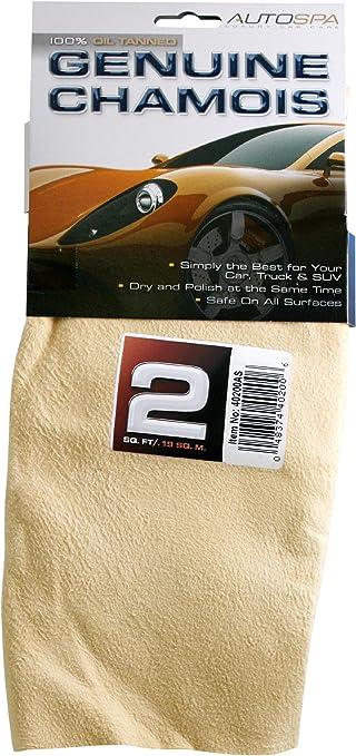 Inc. Carrand 40206AS AutoSpa Genuine Full Skin Chamois 5 sqft Carrand Co