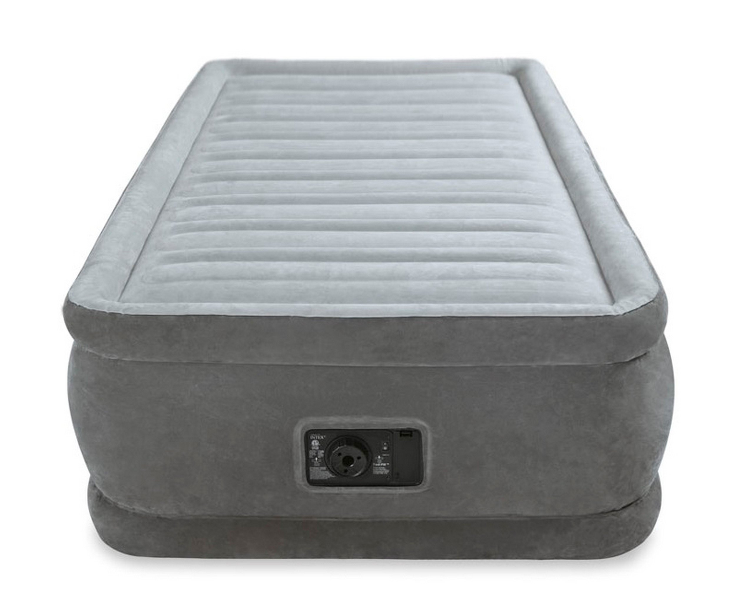 Intex Comfort Plush Elevated Dura-Beam Airbed with Built-in Electric Pump, Bed Height 18'', Twin by Intex (Image #12)