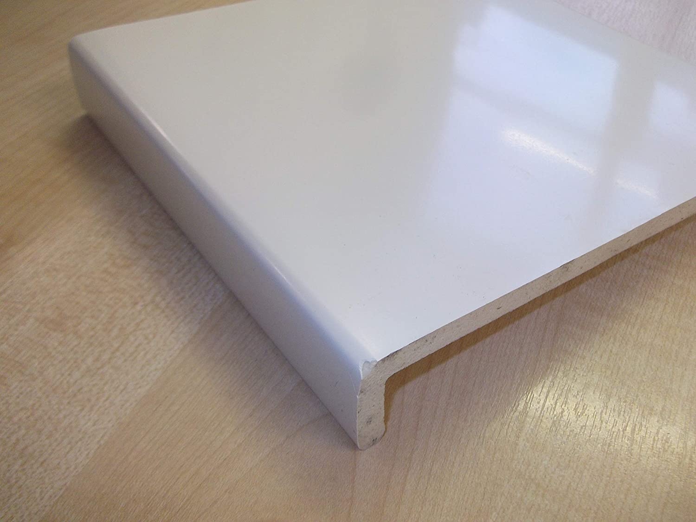 Innovo 1.25 Metre White 200mm Wide Plastic PVC Window Cill Sill Facia Cover Board