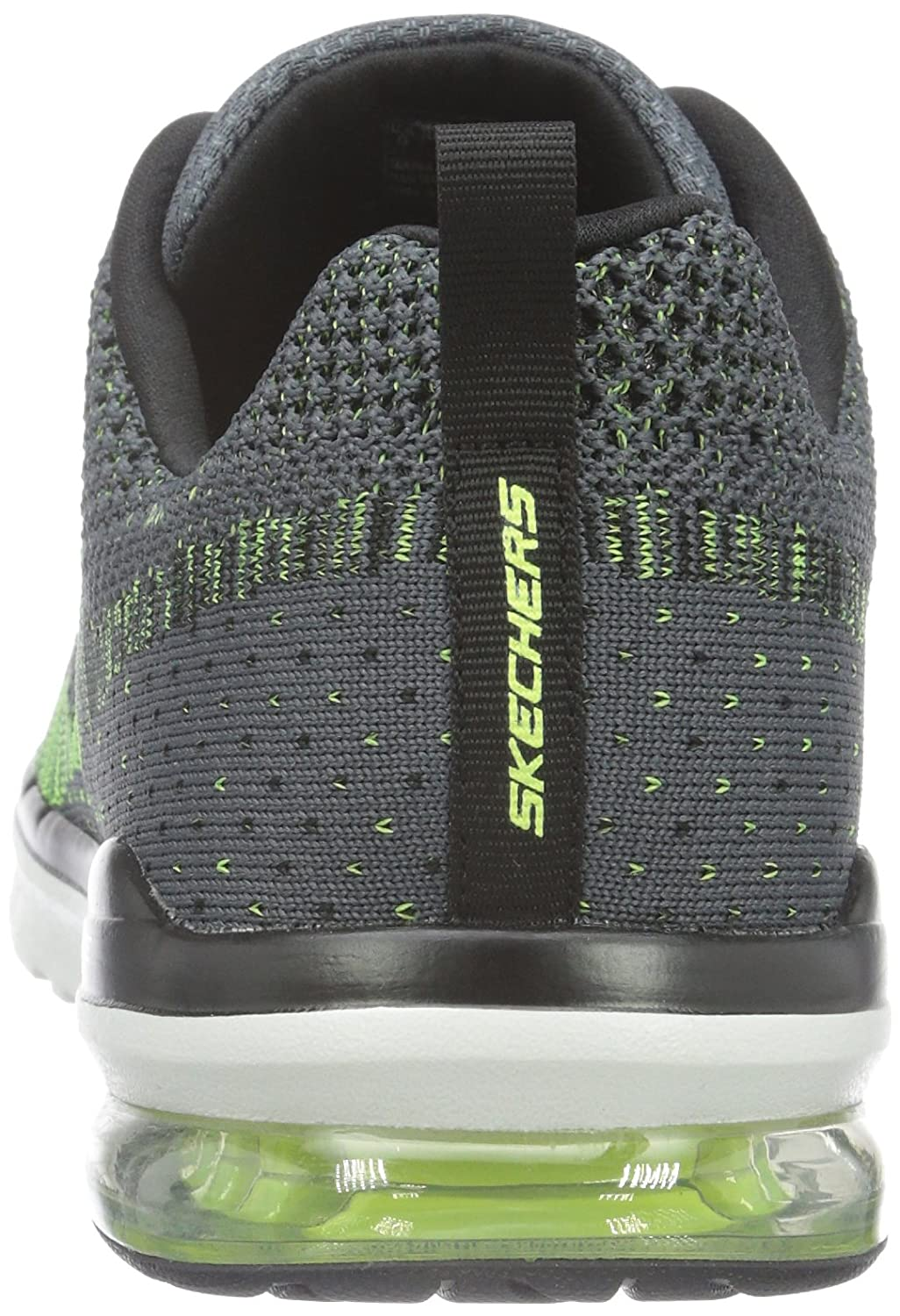Skechers SKEES Air Infinity-Rapid Fire - Baskets Sportives, Homme, Gris (cclm), Taille 47.5