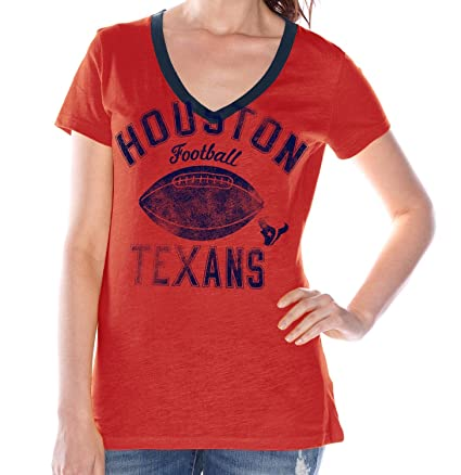 Image Unavailable. Image not available for. Color  Houston Texans Women s  G-III NFL  quot Flea Flicker quot  V-neck T 0e03546ad