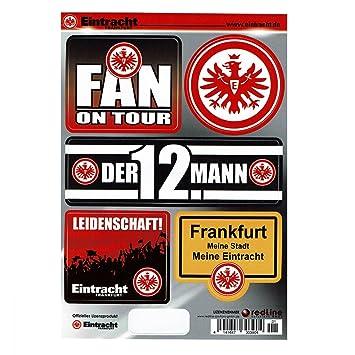 Eintracht Frankfurt/Pegatinas/etiqueta tarjeta 5 unidades en ...