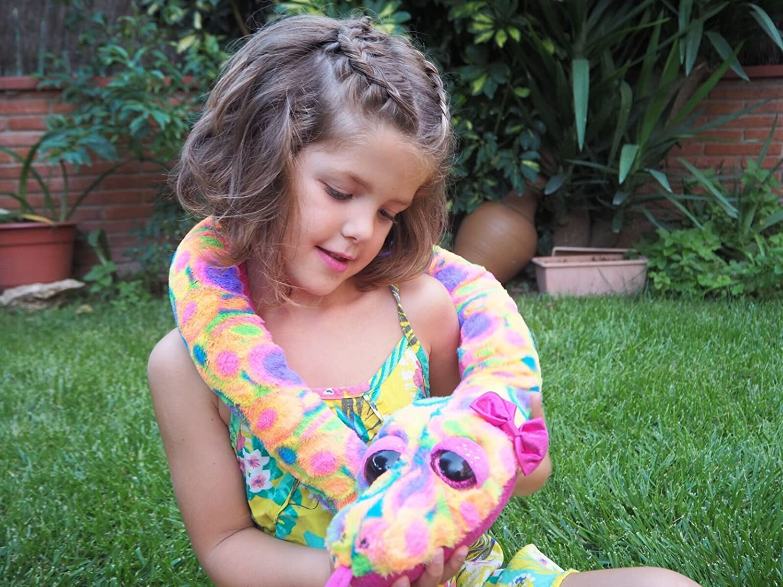 Juguete de Peluche Serpiente punteada Sherbert 1 Wild Republic- Sweet /& Sassy Multicolor 137 cm