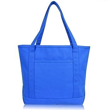 Amazon.com: DALIX - Bolsa de lona de algodón para la compra ...