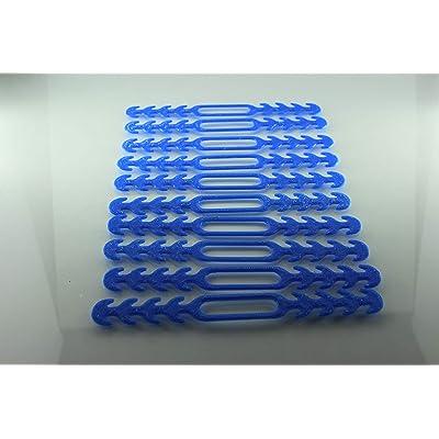 Protector Para las orejas Varieantes (Azul 10Pcs)