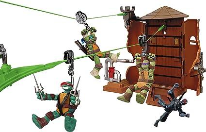 Teenage Mutant Ninja Turtles Z-Line Water Tower Washout Playset