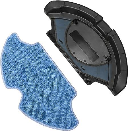 Cecotec Repuesto Accesorio friega suelos con mopa de microfibra Robot aspirador compatible: Conga, Conga Slim y Conga Slim 890 Friega el suelo y pasa la mopa Accesorio de Cecotec. Mopa de Microfibra:
