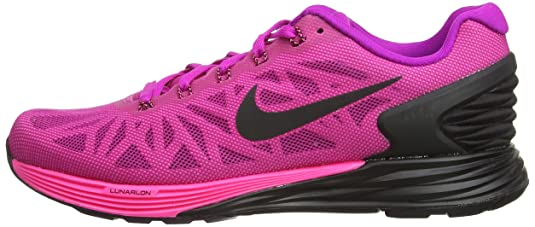 533269c2845 ... ireland nike lunarglide 6 chaussures de sport femme rose fuchsia flash  black pink power 501 2.5